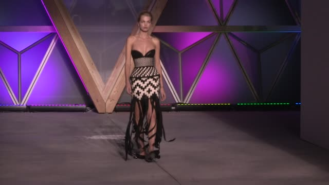 natasha poly daphne groeneveld stella tennant at 2018 fashion for relief fashion show in cannes during the 2018 cannes film festival cannes france... - 71st international cannes film festival stock videos & royalty-free footage