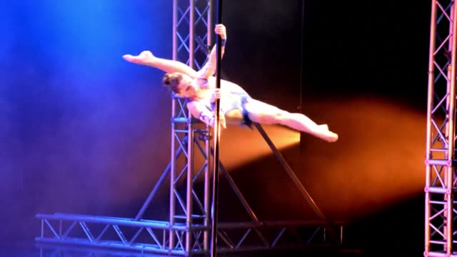 Natasha Wang of the US wins the gold medal at the International Pole Championship in Singapore CLEAN American Wang wins poledancing prize on December...