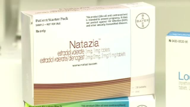 natazia birth control pill box on january 11 2012 in dallas texas - birth control pill stock videos & royalty-free footage