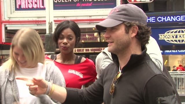 nate berkus at the 14th annual entertainment industry foundation revlon run/walk for women at new york ny - revlon stock videos and b-roll footage