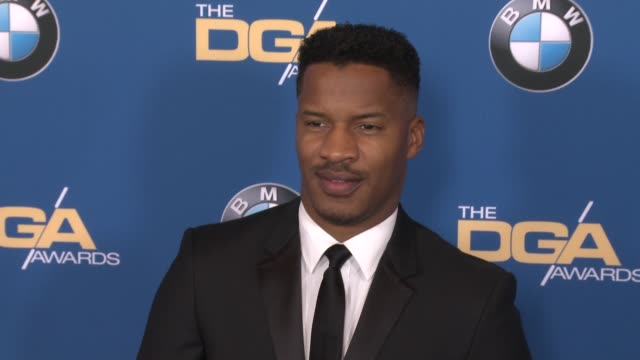 nate parker at 69th annual directors guild of america awards in los angeles ca - directors guild of america awards stock videos & royalty-free footage