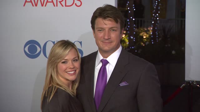 Nathan Fillion at 2012 People's Choice Awards Arrivals on 1/11/12 in Los Angeles CA