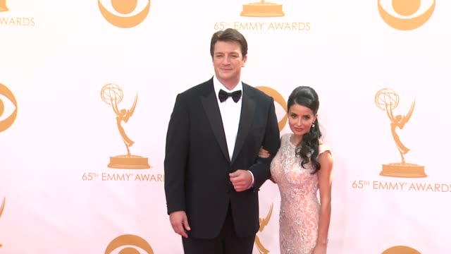 Nathan Fillion at the 65th Annual Primetime Emmy Awards Arrivals in Los Angeles CA on 9/22/13