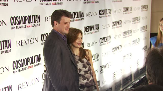 Nathan Fillion at the Cosmopolitan Magazine's Fun Fearless Males Of 2010 at New York NY