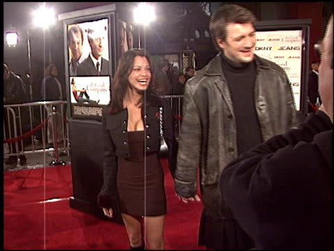 Nathan Fillion at the 'In Good Company' Premiere at Grauman's Chinese Theatre in Hollywood California on December 6 2004