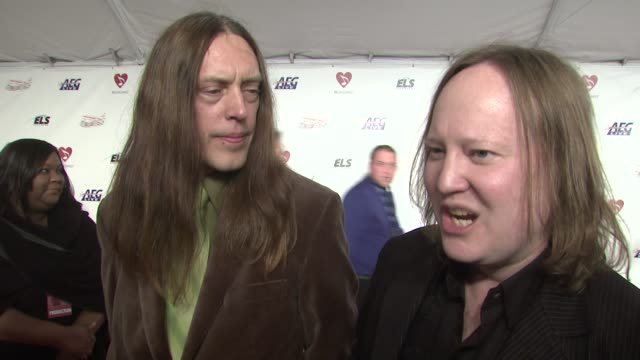 Nathan Katruud and Eddie Roeser of 'Urge Overkill' on recording a Neil Diamond song for 'Pulp Fiction' at the MusiCaresr 2009 Person Of The Year...