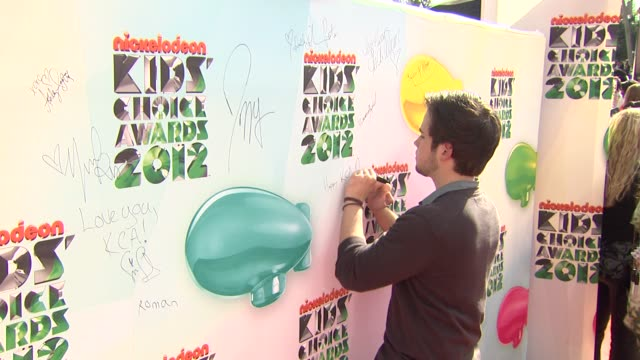 Nathan Kress at Nickelodeon's 25th Annual Kids' Choice Awards on 3/31/2012 in Los Angeles CA