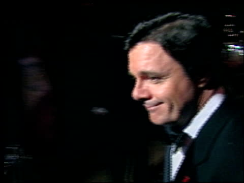 nathan lane at the 2002 academy awards vanity fair party at morton's in west hollywood, california on march 24, 2002. - nathan lane stock videos & royalty-free footage