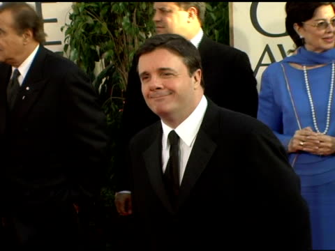 nathan lane at the 2006 golden globe awards arrivals at the beverly hilton in beverly hills, california on january 16, 2006. - nathan lane stock videos & royalty-free footage