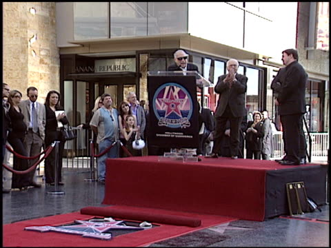 nathan lane at the dediction of matthew broderick and nathan lane's walk of fame star at the hollywood walk of fame in hollywood, california on... - matthew broderick stock videos & royalty-free footage