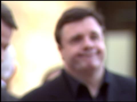 nathan lane at the dediction of matthew broderick and nathan lane's walk of fame star at the hollywood walk of fame in hollywood, california on... - nathan lane stock videos & royalty-free footage