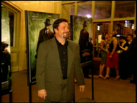 nathan lane at the 'road to perdition' new york premiere on july 9, 2002. - nathan lane stock videos & royalty-free footage