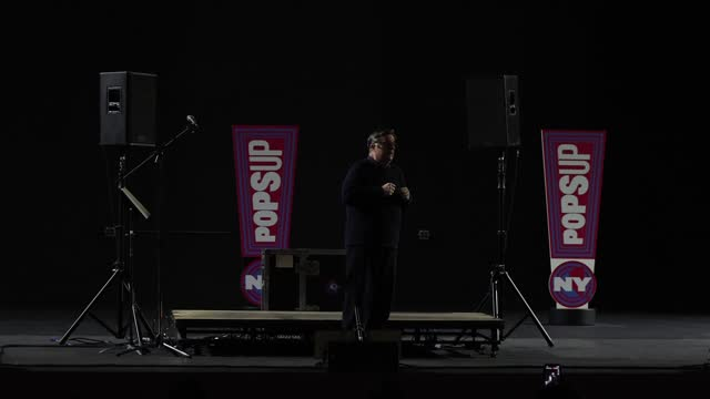 nathan lane performs during a special ny popsup show at the st. james theatre on april 03, 2021 in new york city. this is the first broadway house to... - nathan lane stock videos & royalty-free footage