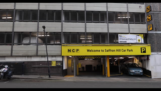 nation car parks ltd. car parks in city of london and southampton, england, u.k., on thursday, march 18, 2021. - western script stock videos & royalty-free footage