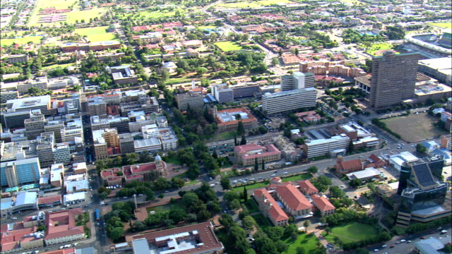 national afrikaans literature museum  - aerial view - orange free state,  mangaung metropolitan municipality,  mangaung,  south africa - afrikaans stock videos & royalty-free footage