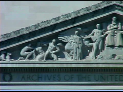national archives building in washington dc - female likeness stock videos & royalty-free footage