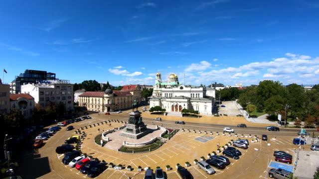 nationalversammlung - sofia, bulgarien - bulgarien stock-videos und b-roll-filmmaterial
