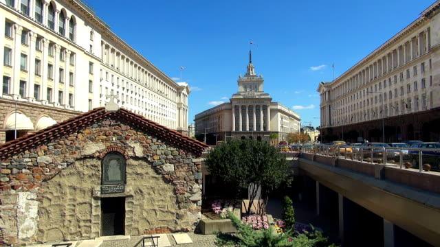 vídeos de stock, filmes e b-roll de assembleia nacional-sófia, bulgária - bulgária