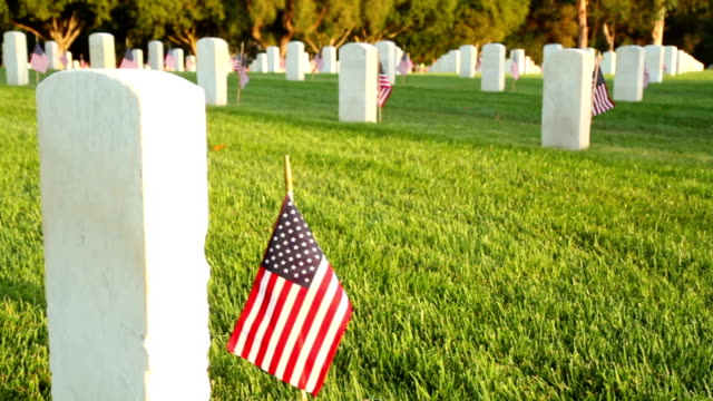 us national cemetery - cemetery stock videos & royalty-free footage