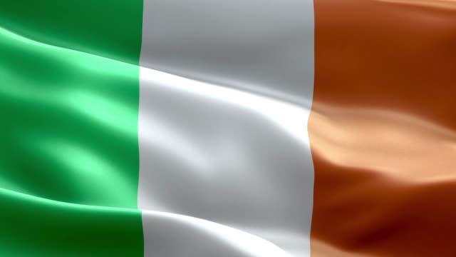National flag Ireland wave Pattern loopable Elements