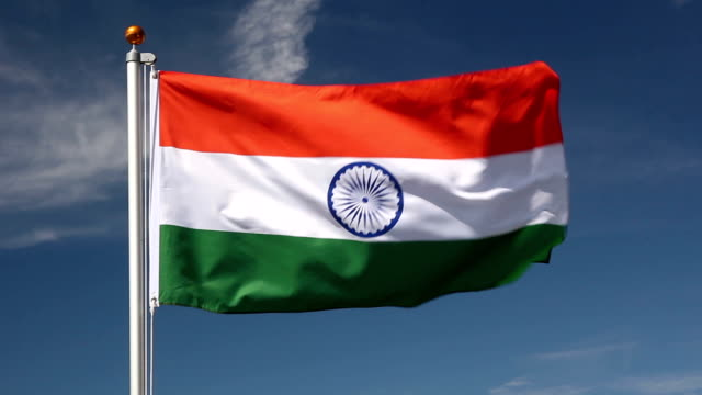 National Flag Of India: Indian Flag Videos And B-Roll Footage