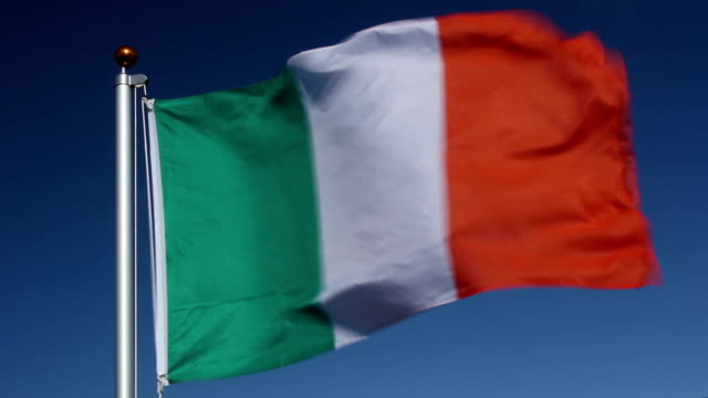 national flag of ireland - st. patrick's day stock videos and b-roll footage