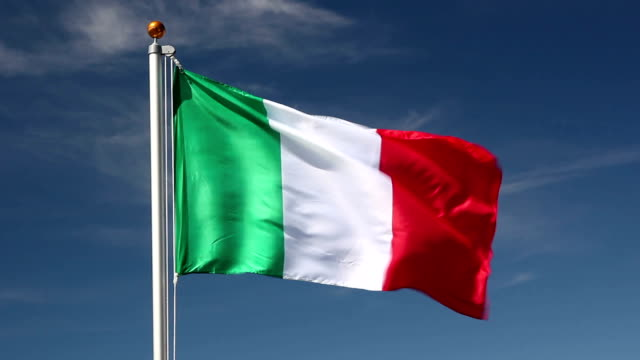 national flag of italy - italian flag stock videos and b-roll footage