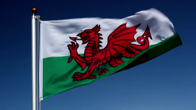 Nationalflagge of Wales