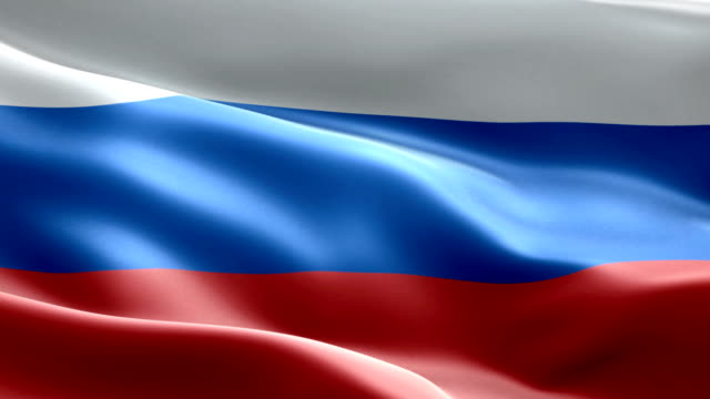 national flag russia wave pattern loopable elements - russia stock videos & royalty-free footage