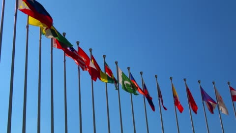 national flags - national flag stock videos & royalty-free footage