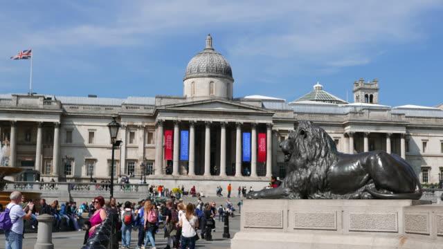 national gallery london - photographing点の映像素材/bロール