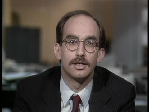national gay task force spokesman jeffrey levi declares education should substitute for tracking and master lists during the aids crisis. - levi's stock videos & royalty-free footage