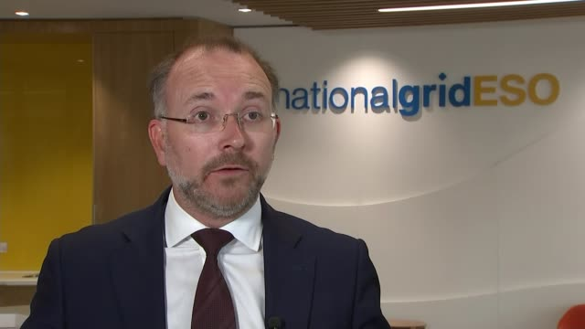 national grid defends handling of massive power cut england int duncan burt interview sot it looks like a really rare event we had a similar... - cut video transition stock videos and b-roll footage