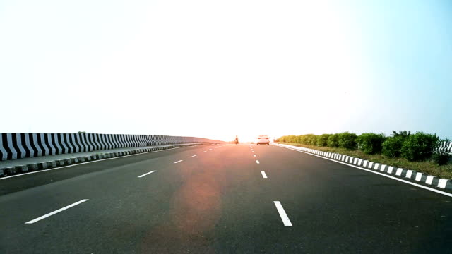 national highway, india - main road stock videos & royalty-free footage