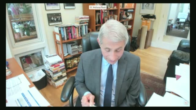 national institute of allergy and infectious diseases director anthony fauci tells the senate help committee by videoconference that there were many... - durability stock videos & royalty-free footage