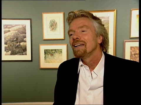 slump in ticket sales; itn london int richard branson interview sot - one of problems camelot has is that it hasn't changed/ game plan is same as... - billy connolly stock videos & royalty-free footage
