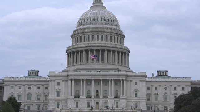 National Mall och United States Capitol Building i Washington, DC - 4k/UHD