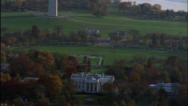AERIAL, ZI, National Mall and White House, Washington DC, USA