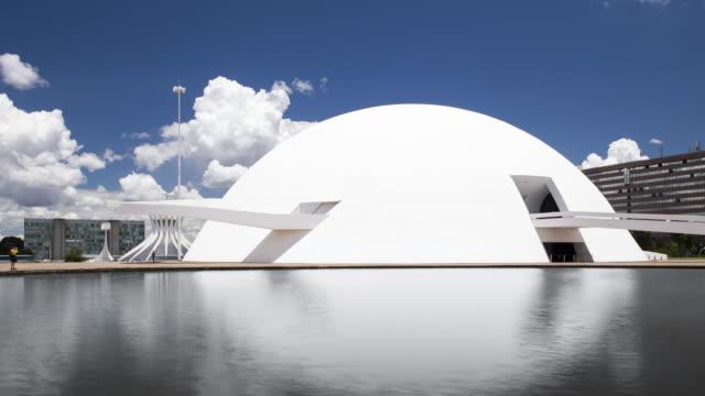 tl national museum / brasilia, brazil - 4k resolution stock videos & royalty-free footage