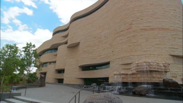 ms, national museum of the american indian, washington dc, usa - smithsonian institution stock videos & royalty-free footage