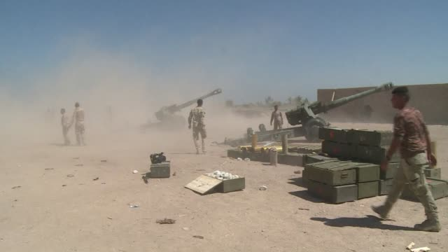 National police and Iraqi soldiers were patrolling in some parts of the Garma district in the Anbar province on Sunday which they are fighting to...