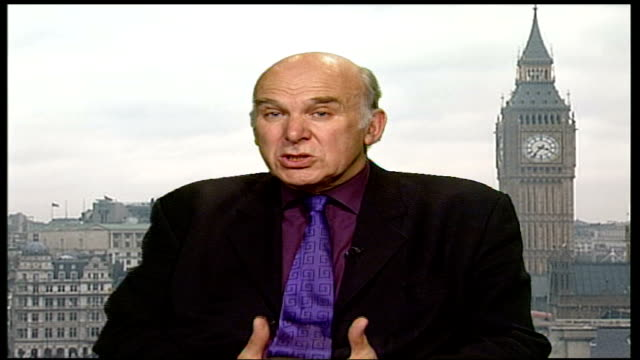 nhs national programme for it criticised by experts westminster vince cable mp interview sot massive commitment of public money technical problems... - audit stock videos and b-roll footage