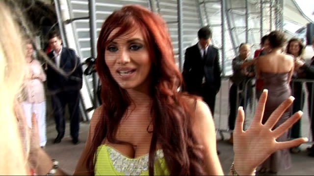 celebrity interviews amy childs red carpet interview sot/ harry derbridge red carpet interview sot - reality tv stock videos & royalty-free footage