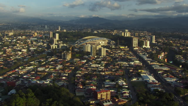 national stadium of costa rica in san jose - costa rica stock-videos und b-roll-filmmaterial