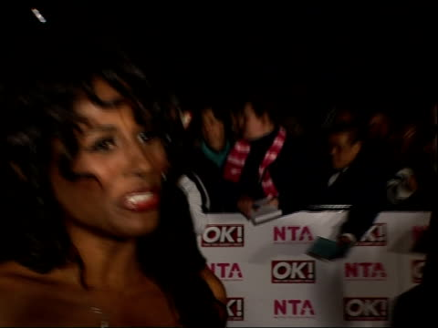 national television awards 2008: red carpet arrivals and backstage; simon cowell arrival and interview sot - no comment on ross brand fracas/... - top of the pops stock videos & royalty-free footage
