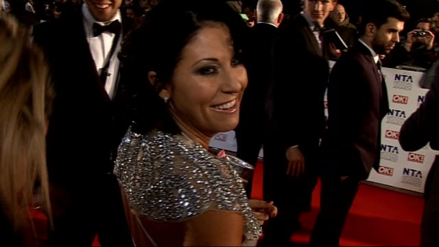 interviews BV of Jessie Wallace along David Jason interview SOT on Robet Glenister and Bruce Forsyth deserving recognition Jessie Wallace interview...