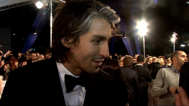 interviews George Lamb interview with other crew SOT On exercise similar to Linford Christie preparing for life in the fast lane George Lamb...
