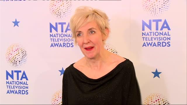 Winners' room Julie Hesmondhalgh interview SOT