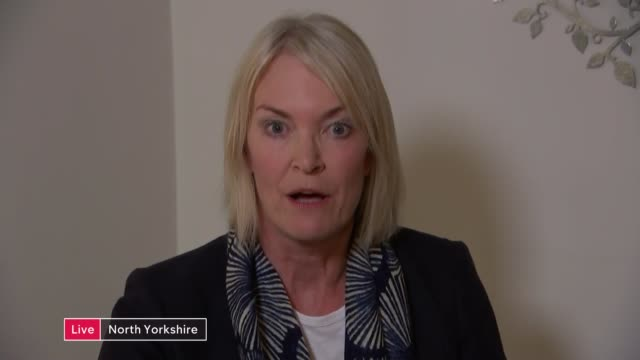 national trust gay pride row; england: london: gir: int margot james mp 2 way interview from north yorkshire sot - national trust video stock e b–roll