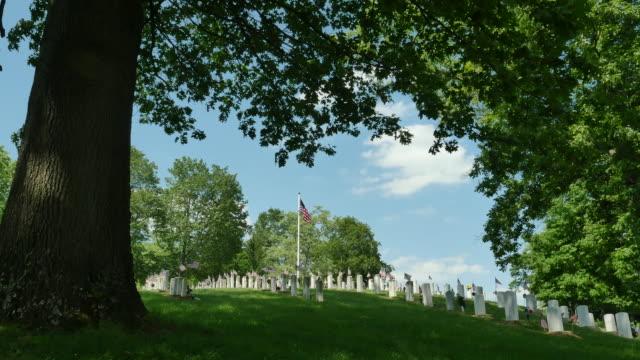 Veteraner kyrkogård Under Eken 4k